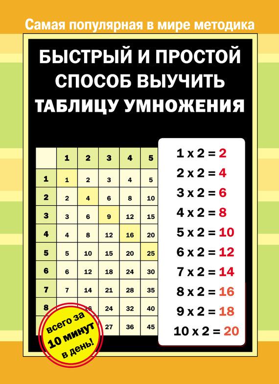 30/1 математика таблица умножения